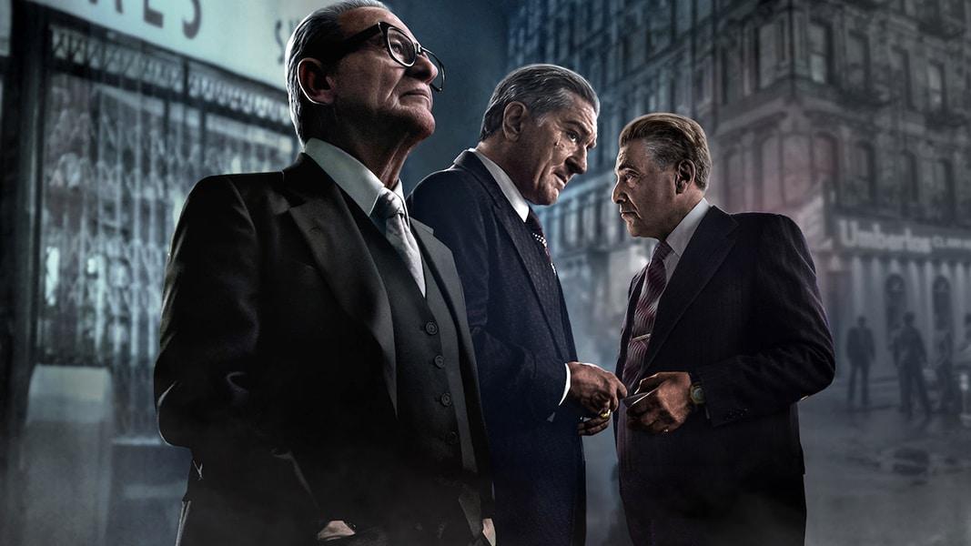 "Joe Pesci, Robert De Niro, and Al Pacino in ""The Irishman"" (2019). A must-see film. (Bizarre Los Angeles)"