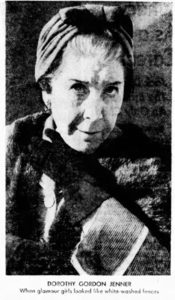 Dorothy Gordon Jenner in 1960.