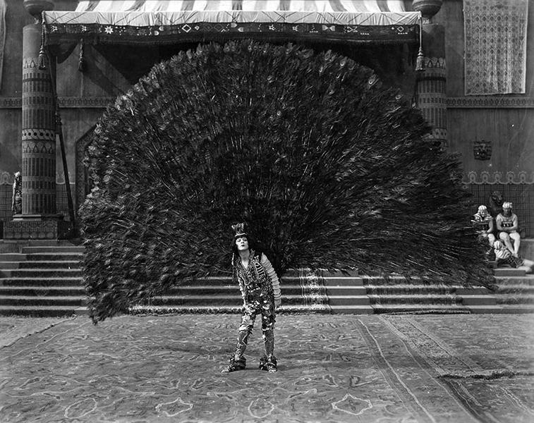 Frederick Ko Vert in The Queen of Sheba (1921). Bizarre Los Angeles.