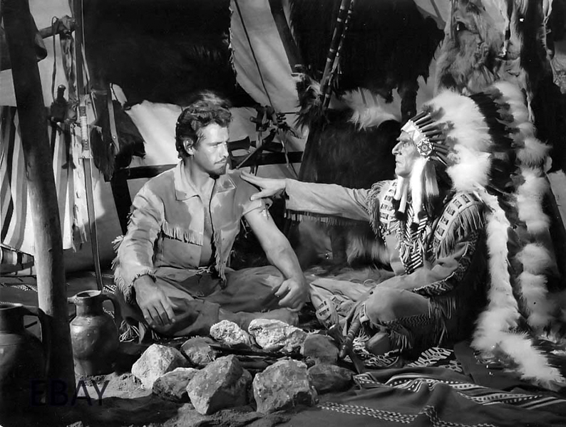 """Gordon Scott in """"Buffalo Bill, Hero of the Far West."""""""
