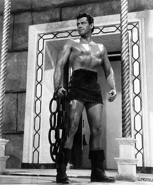 "Gordon Scott in ""Goliath and the Vampires"" (1961). Bizarre Los Angeles."