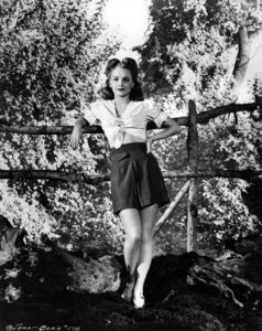 """""""I came to Hollywood, sang for the National Broadcasting Company, got a screen test and here I am."""" -- Janet Blair (Bizarre Los Angeles)"""