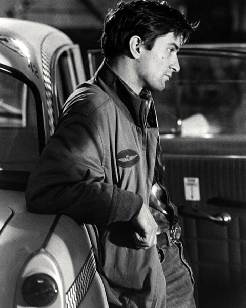 Robert De Niro in Taxi Driver (Bizarre Los Angeles)