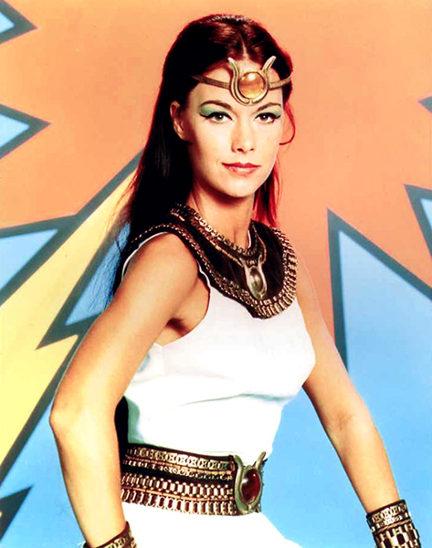 """Who's afraid of being typecast as a super-hero? If you have to be typecast, take super-hero or Egyptian goddess."" -- JoAnna Cameron (Bizarre Los Angeles)"