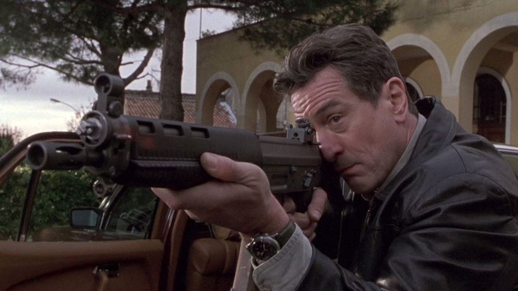 """One thing that there should be is some regulation of guns … It's crazy how almost anyone can get access to a gun."" -- Robert De Niro (Bizarre Los Angeles)"