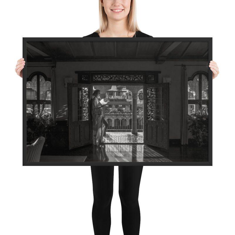 """Geisha"" - Framed Poster"