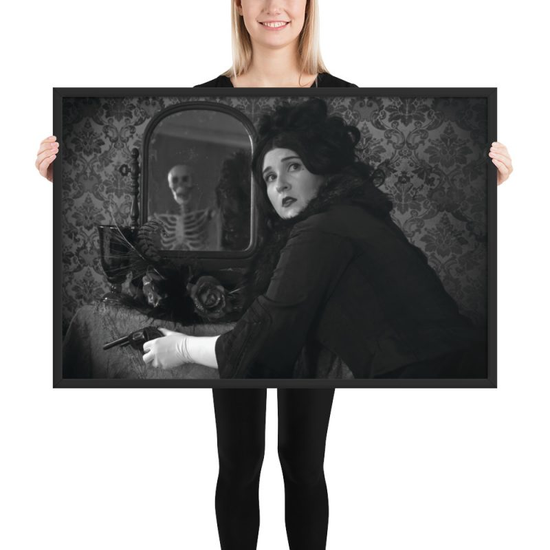"""When Death Calls"" Framed Poster"