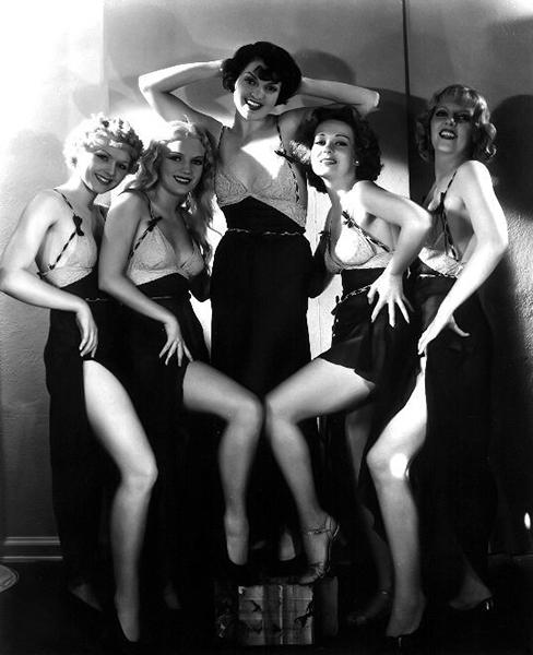 "Busby Berkeley Girls in ""Footlight Parade"" (1933). Bizarre Los Angeles"