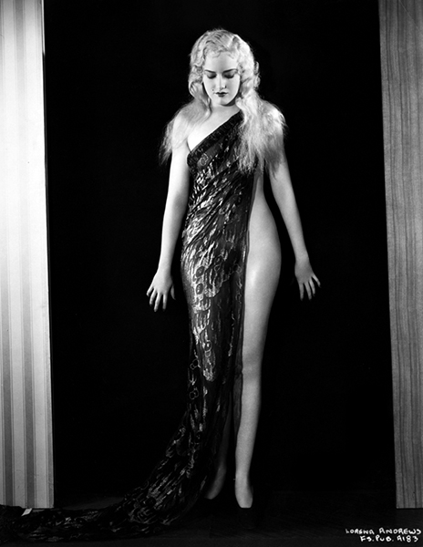 Busby Berkeley Girl Lorena Andrews (Bizarre Los Angeles)