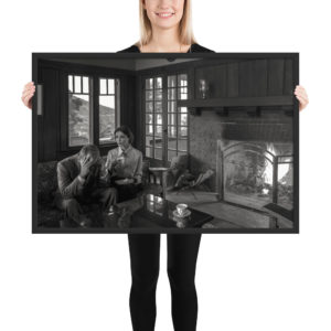 """""""Despair"""" at the Banning House Lodge by Craig Owens framed photo print."""