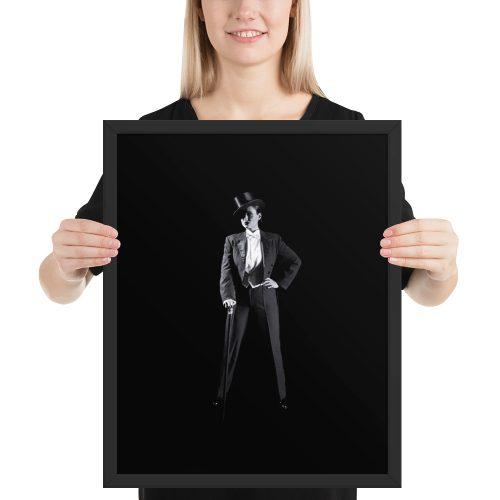 """""""Show Stealer"""" Framed Poster by Craig Owens"""
