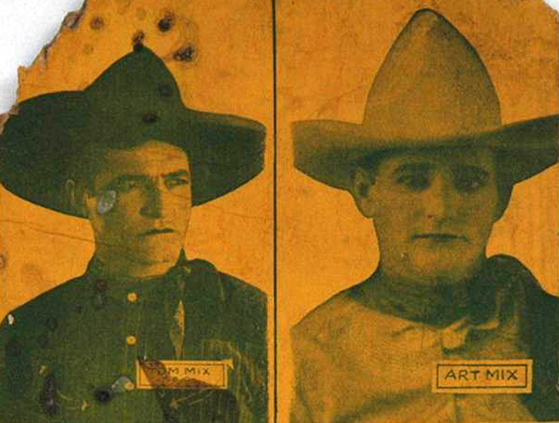 Tom Mix vs Art Mix (Bizarre Los Angeles)