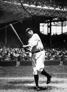 """""""Never let the fear of striking out get in your way."""" -- Babe Ruth (Bizarre Los Angeles)"""