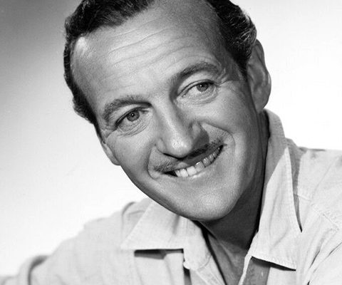 """""""I've been Mr. Lucky since my first day in Hollywood and I still expect a little fellow in a black hat to tap me on the shoulder some day and say, 'Pardon me, Mr. Niven, but you've been found out.'"""" -- David Niven (Bizarre Los Angeles)"""
