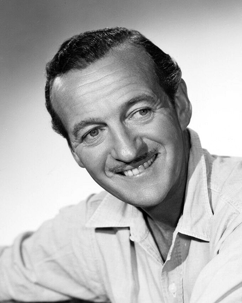 """I've been Mr. Lucky since my first day in Hollywood and I still expect a little fellow in a black hat to tap me on the shoulder some day and say, 'Pardon me, Mr. Niven, but you've been found out.'"" -- David Niven (Bizarre Los Angeles)"