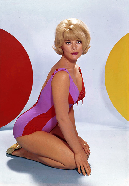 """You think I'm beautiful? No, I'm not. I am not beautiful. I don't even think, really, that I'm very attractive."" -- Elke Sommer (Bizarre Los Angeles)"