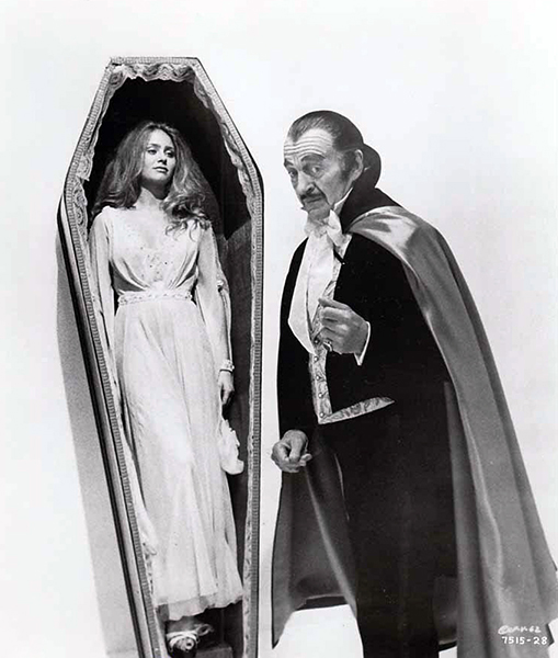 """About that Dracula thing. It was meant to be shown in the states at all. I did it as a favor for a friend. It was designed strictly for Germany and Italy, where they love that sort of thing. But somehow it came over here, to my everlasting embarrassment."" -- David Niven (Bizarre Los Angeles)"
