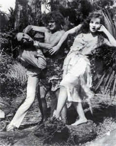 Karla Schramm as Jane in 1920. (Bizarre Los Angeles)