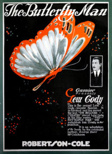 """The Butterfly Man"" (1920) with Lew Cody. (Bizarre Los Angeles)"