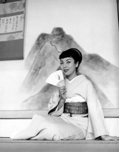 """Even a full geisha, just like your good actress in Hollywood, never stops studying. She always must strive to improve. The most talented geishas in Japan today are in constant demand for performances on stage, radio, television and often in motion pictures."" -- Machiko Kyo (Bizarre Los Angeles)"