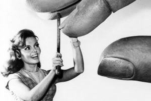 """""""I was always the one getting caught by the giant hand. That was the most bizarre."""" -- Deanna Lund of """"Land of the Giants.""""(Bizarre Los Angeles)"""