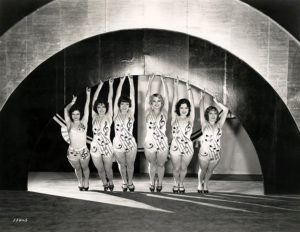 "Chorus Girls from ""Hollywood Revuew of 1929"" (Bizarre Los Angeles)"