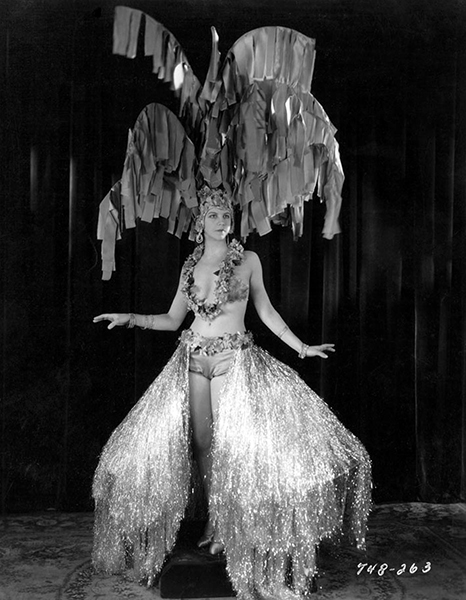 """Chorus Girl from """"The Dance of Life"""" (1929)"""