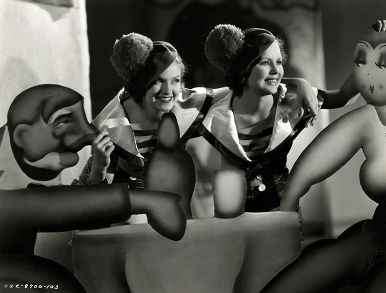 """Chorus Girls from """"Moulin Rouge"""" (1933)"""