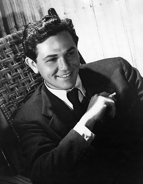 """I guess I'm lucky. I'm in a position to do what I want to do. If a part doesn't interest me I won't take it. I'm a ham, and I'm not ashamed of it."" -- John Garfield (Bizarre Los Angeles)"