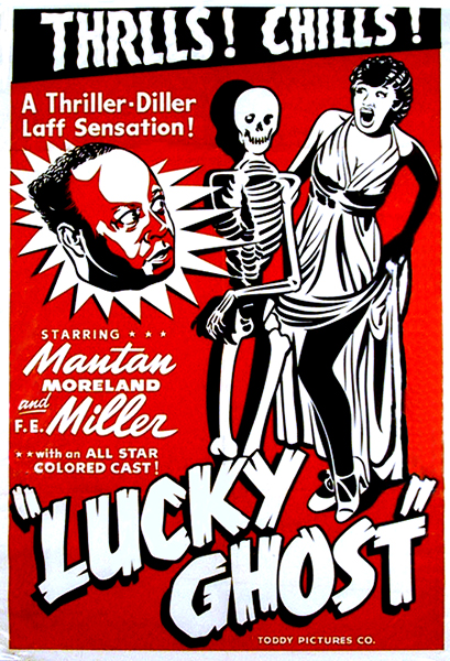 Lucky Ghost (1942). Bizarre Los Angeles.