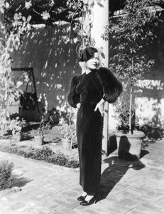 """""""As a blonde, I was ever the vamp, or ever the heavy."""" -- Muriel Evans in 1934 (Bizarre Los Angeles)"""