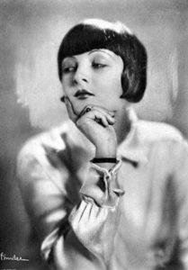 """The first English word Hungarian silent film star Lya de Putti learned when she came to America to make movies was """"Applesauce,"""" which was 1920s slang for """"nonsense."""" (Bizarre Los Angeles)"""