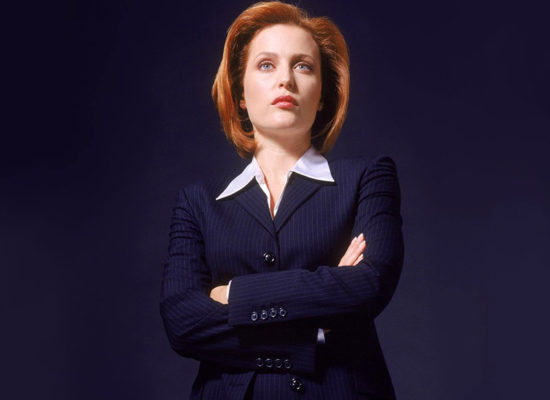 """I certainly didn't think 'X-Files' would be a seemingly lifelong job. I didn't realize that signing my contract would lead to all of this. It's been a little bigger, let's say, than I expected."" -- Gillian Anderson (Bizarre Los Angeles)"
