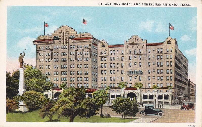 The St. Anthony Hotel in San Antonio, Texas. (Bizarre Los Angeles)