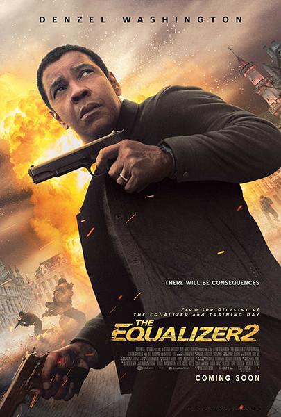 "Denzel Washington in ""The Equalizer 2"" (2018). Bizarre Los Angeles"