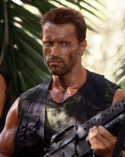 """'Predator' wouldn't have any effects on kids. You can say the language, but what kids say today, I hear it all the time in my neighborhood."" -- Arnold Schwarzenegger (Bizarre Los Angeles)"