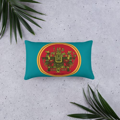Haunted by History Aztec Hotel Pillow