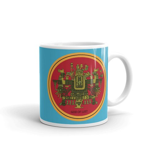 "Aztec Hotel ""God of Lust"" Mug"