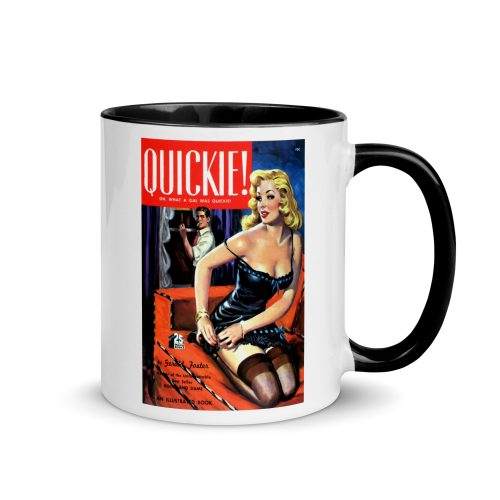 """Quickie"" Pulp Art Mug"