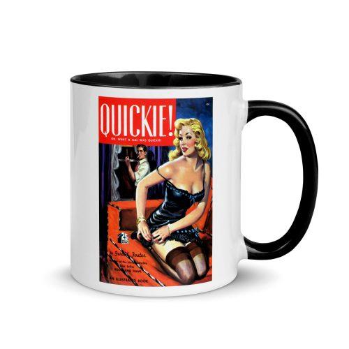 """""""Quickie"""" Pulp Art Mug"""