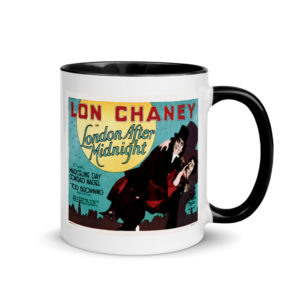 "Lon Chaney ""London After Midnight"" Mug"
