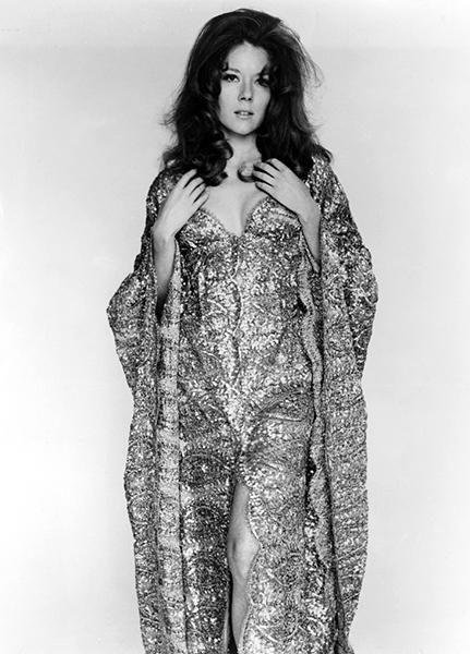 Diana Rigg in 1967. (Bizarre Los Angeles)