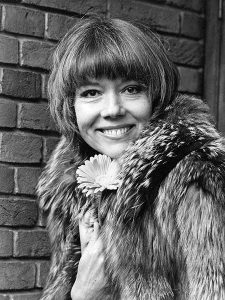 """""""I decided to try and become commercial for a change. The trouble with staying with a classical company is that you become known as 'a lady actress.' No one ever thinks of you, except for parts in long skirts and blank verse."""" -- Diana Rigg (Bizarre Los Angeles)"""