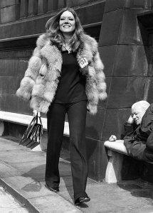 Diana Rigg in London (Bizarre Los Angeles)