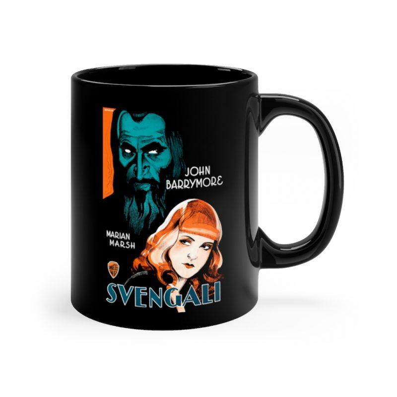 """""""Svengali"""" Gothic Horror Mug"""