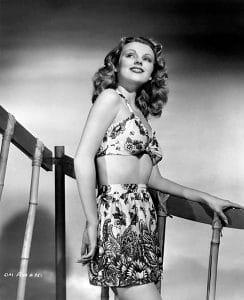 Film player Dorothy Morris. (Bizarre Los Angeles)